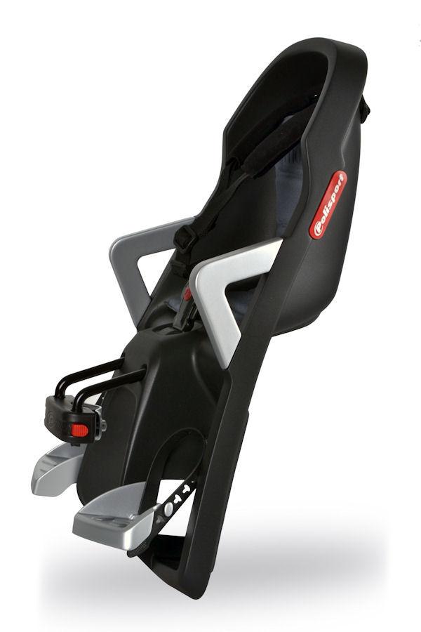 kindersitz fahrrad vorne polisport guppy mini schwarz. Black Bedroom Furniture Sets. Home Design Ideas